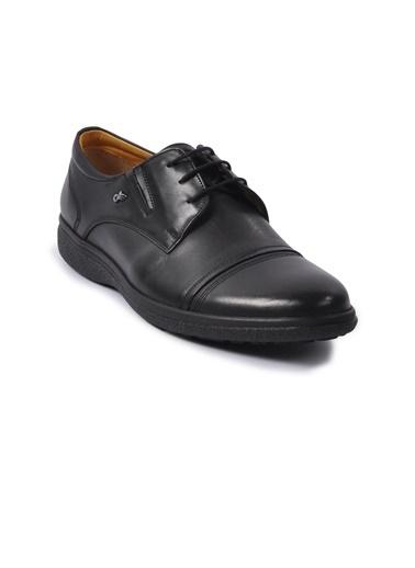 Dr.Flexer Dr.Flexer 018001 Taban Kalınlığı Yaklaşık 3 Cm Hakiki Deri Erkek Günlük Ayakkabı Siyah